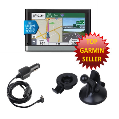 2597LMT Garmin Nuvi GPS Bundle + Free North American Maps - Fully Updated
