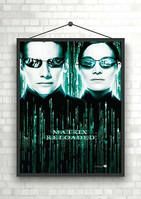 The Matrix Reloaded Classic Movie Poster Print A0 A1 A2 A3 A4 Maxi