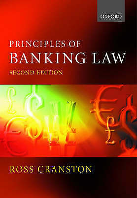 Principles of Banking Law-ExLibrary