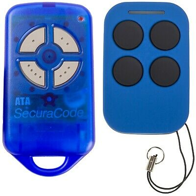 ATA PTX4 Securacode Gate / Garage Door Remote Control PTX-4 Replacement Options