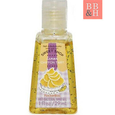 NEW Original Bath & Body WorksLemon Meringue Tart - PocketBac Hand Sanitiser Gel