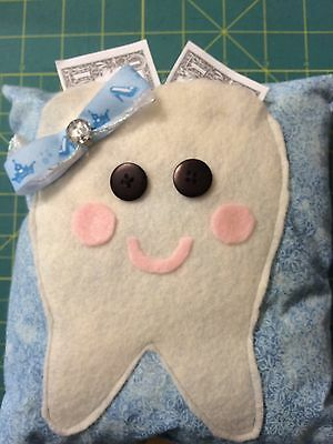 Princess Dianey  tooth fairy pillow Cinderella bow crown