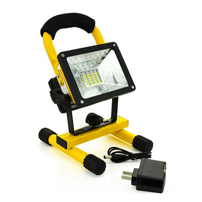 Portable 30W LED Emergency Work Light Flood Rechargea Outdoor Camping Cordless