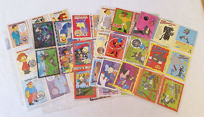 52x The Simpsons Cards Bulk Lot (Skybox 1994)