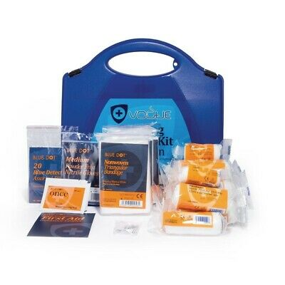 First Aid Kit Hospitality Catering Vogue HSE 10 person Emergency Medical