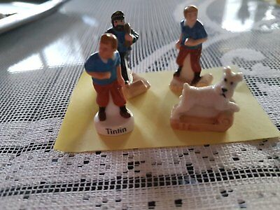 Feves collection Tintin