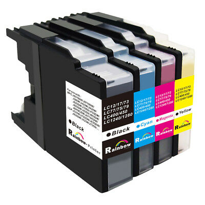 4 PK LC71 LC75 LC79 Compatible Ink Cartridge for Brother MFC-J6910CDW J5910CDW