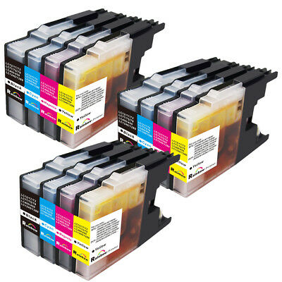 12x Ink Set For Brother MFC-J425W  MFC-J625DW MFC-J825DW MFC-J835DW LC79 LC75