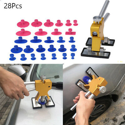 PDR Auto Car Body Dent Repair Ding Remover Tools Puller Kit 28Pcs Accessory T6H2
