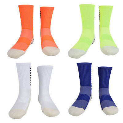 Team Comfy Anti-Slip Silicone Soccer Sports Socks Men Sock Football Long Knee WD