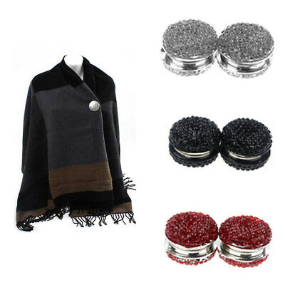 Women Magnetic Hijab Pin Headscarf Abaya Clasp Brooch Shawl Magnet Scarf Pin