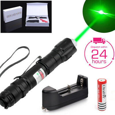 Military Green Beam Laser Pointer Gift Box Set - 18650 Rechargeable Battery