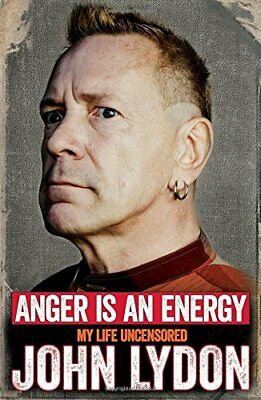 Anger is an Energy: My Life Uncensored by Lydon, John Book The Cheap Fast Free