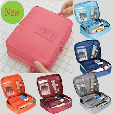 Travel Cosmetic Storage MakeUp Bag Folding Toiletry Wash Organizer Pouch New
