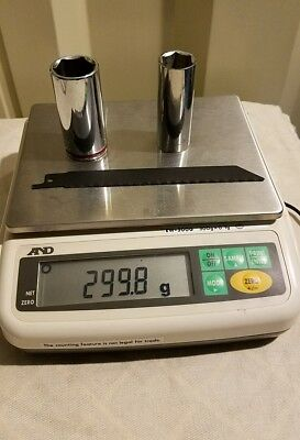 AND A&D analytical lab scale digital balance  EW-300G 300g 100 mg lab laboratory