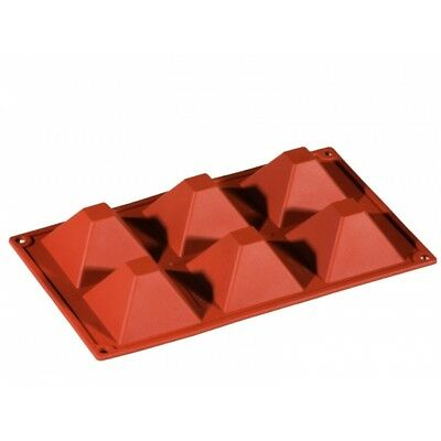 FR007 Silicone Multiportion Formaflex Pyramid Moulds Tray