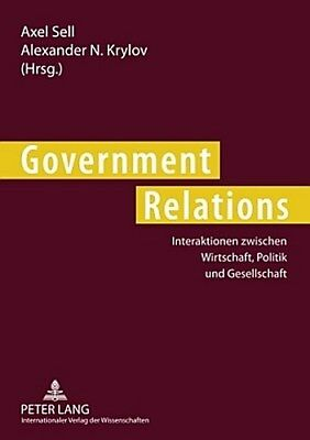 Government Relations - Axel Sell -  9783631584873