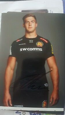 Toby Salmon autograph Exeter Chiefs