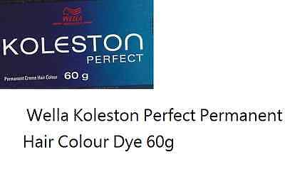 1 x Wella Koleston Perfect Permanent Hair Colour Dye 60g FREE POST