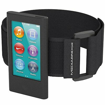 Armband for iPod Nano 7th Generation 8th Gen Black MP4 MP3 Player Accessories