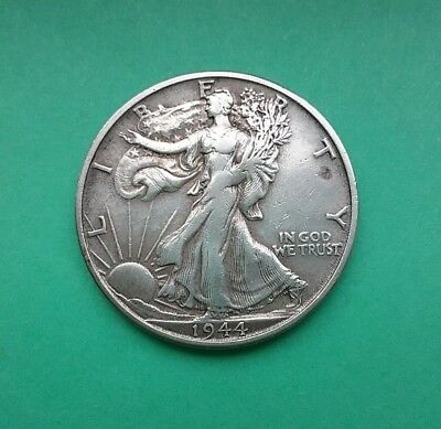 US 1944 S Walking Liberty Half Dollar