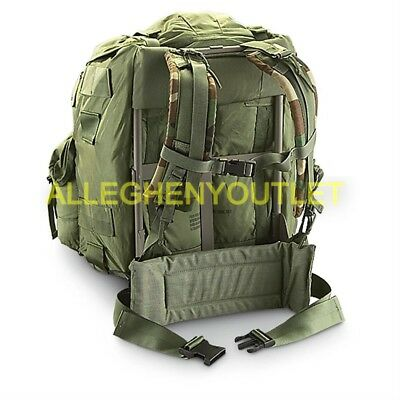 US Army Military LARGE OD ALICE PACK COMBAT FIELD BACKPACK COMPLETE VGC
