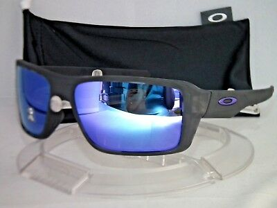 1ed313015d OAKLEY DOUBLE EDGE Sunglasses OO9380-0466 Matte Black Tortoise   Violet  Iridium