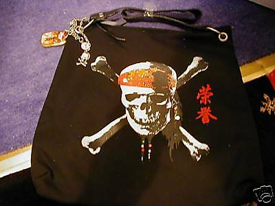 Disney Store Pirates Of The Caribbean Shoulder Bag Brand New Very Rare