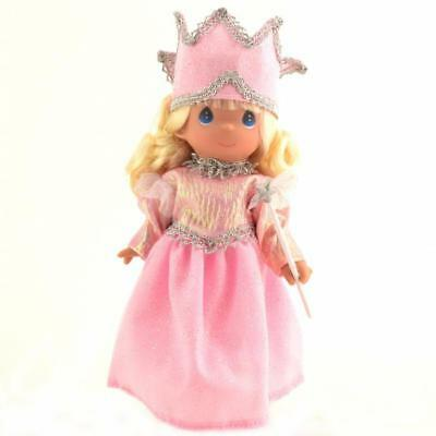 """Precious Moments 7"""" Doll Glenda Wizard of Oz Witch-ful Thinking New Pink Crown"""