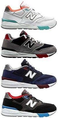 low priced 01c0b 98c20 NEW BALANCE 597 Sneaker Uomo ML597GNB Navy Grey - EUR 72,00 ...