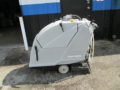 "Nobles Tennant Boss 2000E 20"" Carpet Extractor Floor Cleaner Walk Behind"
