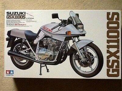 Tamiya 1/6 Big Scale Suzuki Gsx1100S Motorcycle # 16025 Nib Open Box Complete!