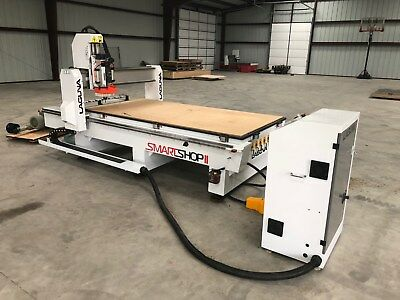 laguna smart shop II, brand new, 11hp router spindle w/vacuum hold down