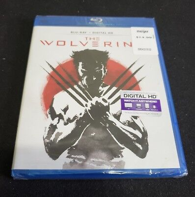 The Wolverine (Blu-ray Disc, 2016, Includes Digital HD) NEW!