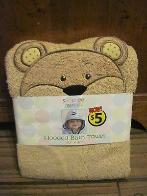 Simplee Baby Lion Hooded Bath Towels (NEW)