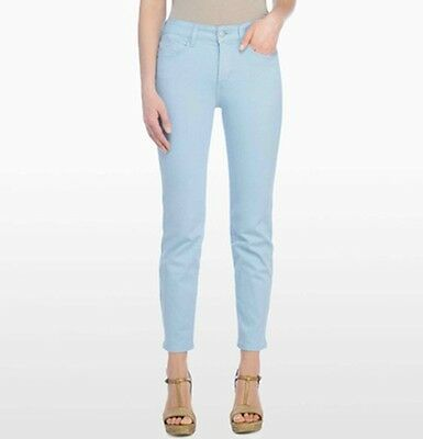NEW NYDJ Not Your Daughters Jeans pants ALISHA Bright Watermelon red pink ANKLE