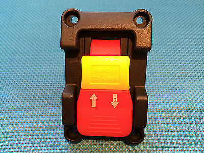 On Off Saw / Motor Switch  & Mounting Plate Spst 110V 20A Safety Key