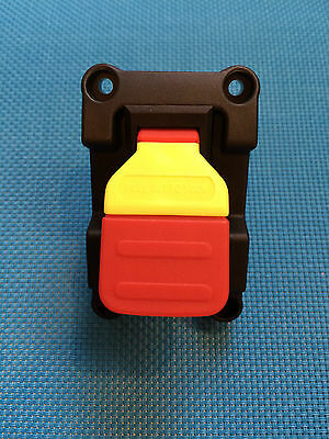 On / Off  Paddle Switch & Mounting Plate 2 Pole 120V 20A  240V 12A W/ Safety Key