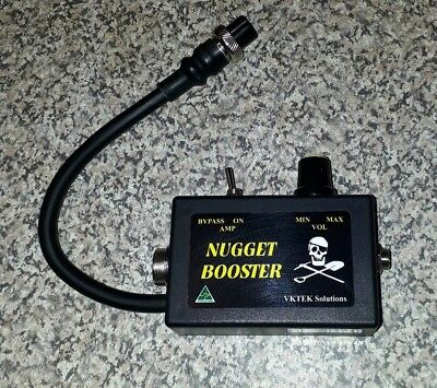 NUGGET BOOSTER Amplifier suits SD & GP series  Minelab Gold Metal Detectors