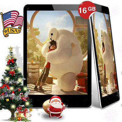 "7"" Inch  Android 4.4 Tablet PC Dual Camera Phone Wifi Quad Core 1+16GB bluetooth"