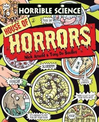 NEW Horrible Science: House of Horrors By Nick Arnold Paperback Free Shipping