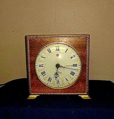 Vintage Old Seth Thomas electric roman numeral mantel clock