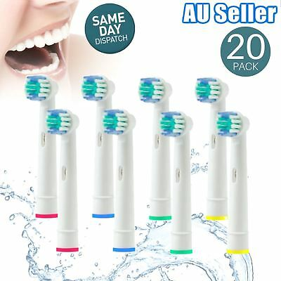 Replacement Toothbrush Heads Oral B Compatible Electric Toothbrush Flexisoft