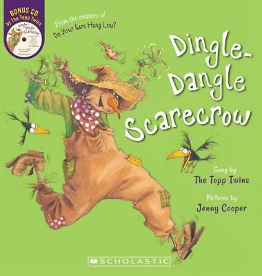 NEW Dingle-Dangle Scarecrow + CD By Topp Twins Board Book Free Shipping