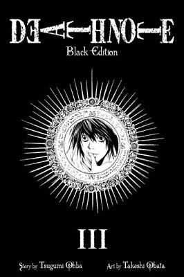 Death Note Black Edition, Vol. 3 by Tsugumi Ohba 9781421539669 (Paperback, 2011)
