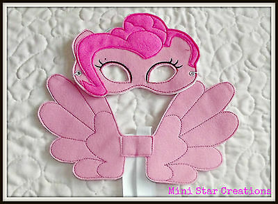 Kids Eye Mask and Small Wings Set - Pinkie Pie  - My Little Pony