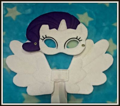 Kids Eye Mask and Small Wings Set - Rarity - My Little Pony