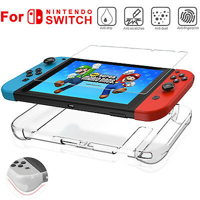 Soft TPU Back Shell Case Cover For Nintendo Switch Protective Full Coverage Skin
