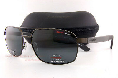 ee3db8658b Brand New CARRERA Sunglasses CA 8006/S 1G0P Gunmetal/Gray Polarized For Men