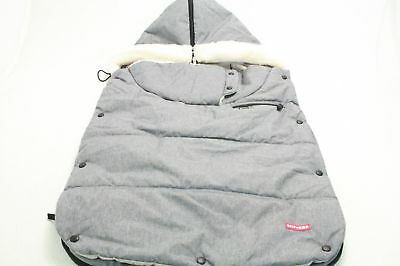 Skip Hop Stroll and Go Three-Season Footmuff for Toddler Heather Grey Fashion